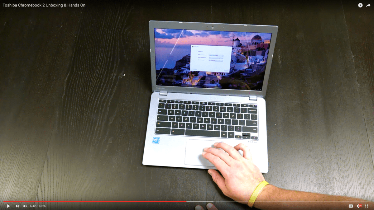 Toshiba Chromebook 2 Unboxing & Hands On