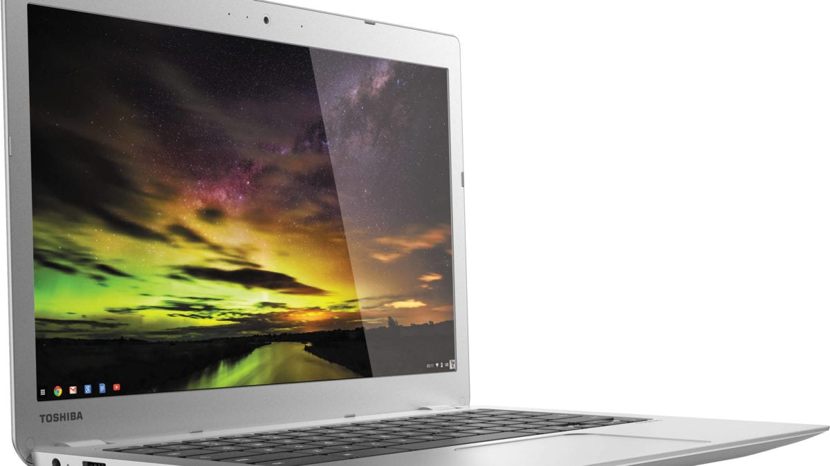 The Toshiba Chromebook 2 (2015) Finally Lands Android Apps