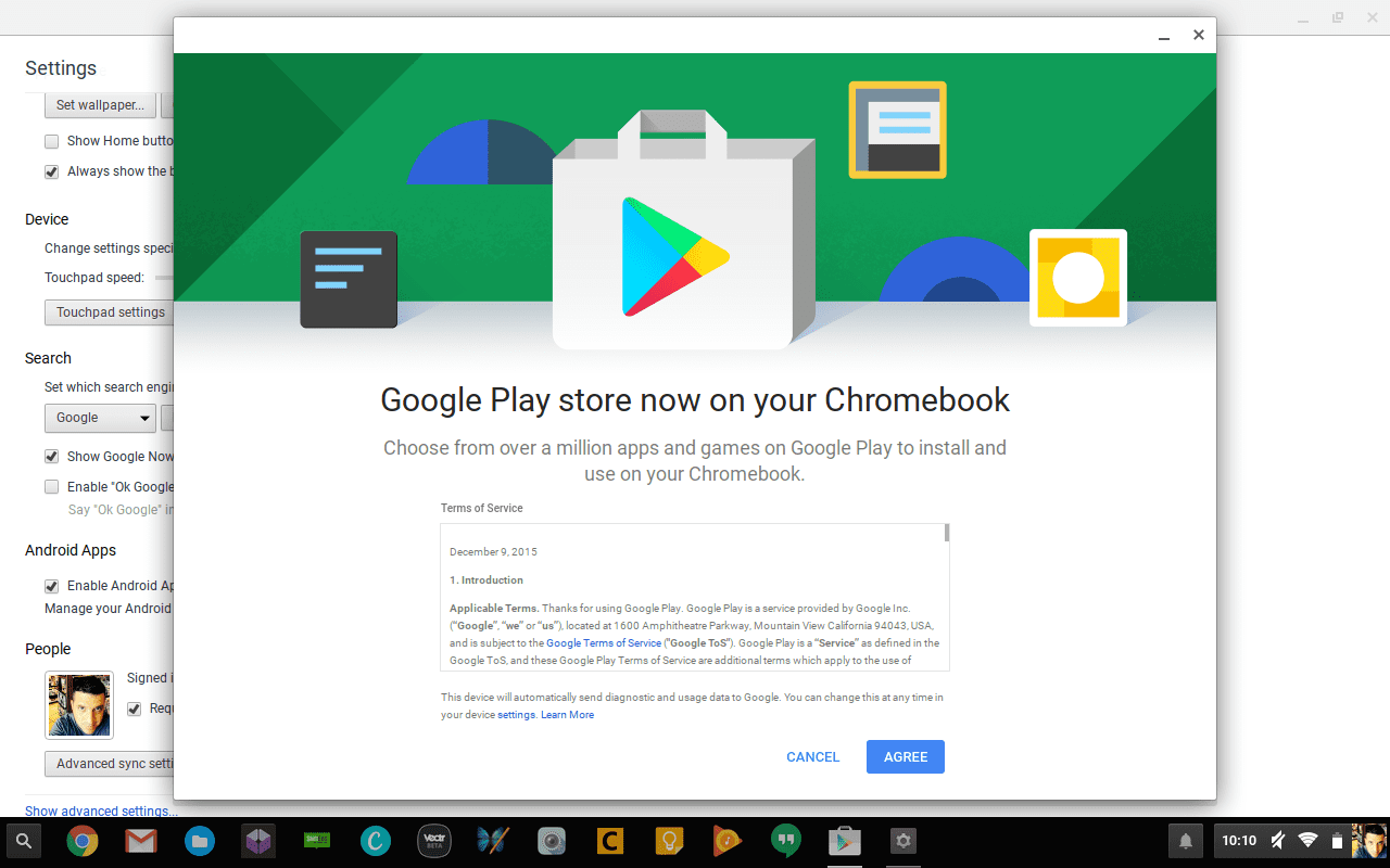 play store lands on chromebook pixel and acer r11. Black Bedroom Furniture Sets. Home Design Ideas