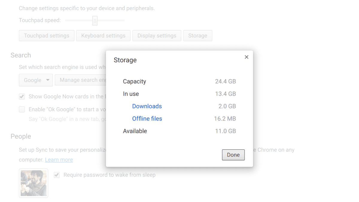 Google Creates Storage Manager for Chrome OS
