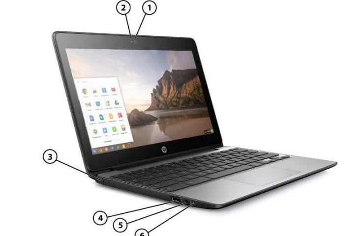 HP Chromebook 11 G5 Official