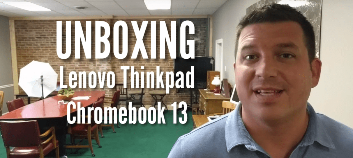 Lenovo Thinkpad Chromebook 13 Unboxing and Hands On