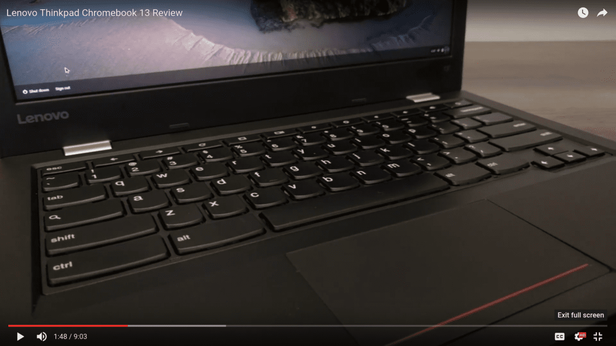 Lenovo Thinkpad Chromebook 13 Review