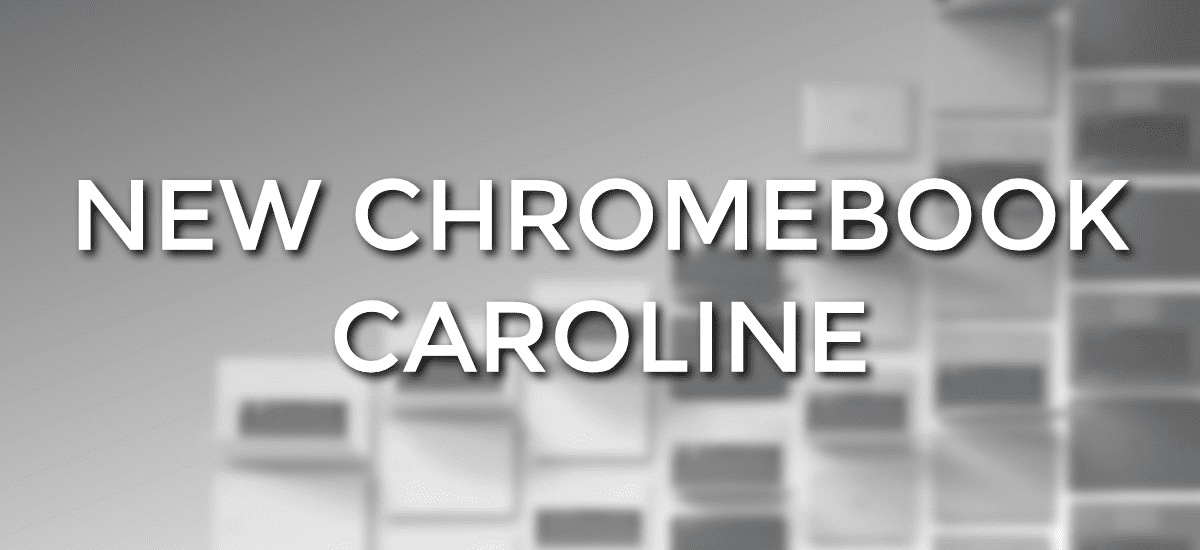 New Skylake Chromebook: Hello 'Caroline'