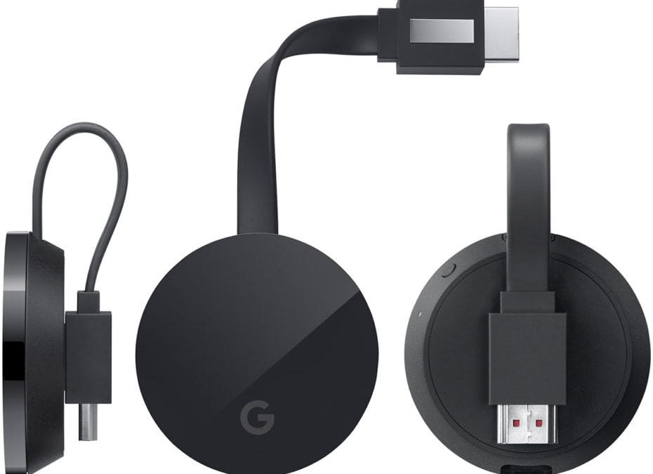 Chromecast Ultra Official: 4K Resolution, Better Sound and Faster