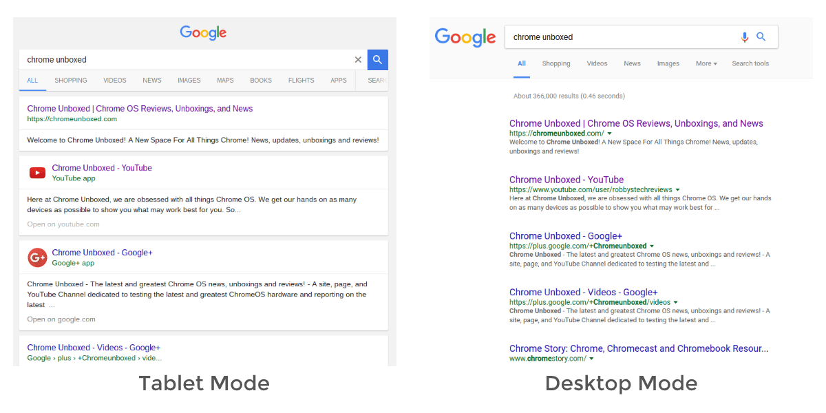 Quick Tips: Request Tablet Mode For Chrome