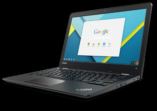 New Video From Lenovo Advertises Android Apps On Their Chromebook 13