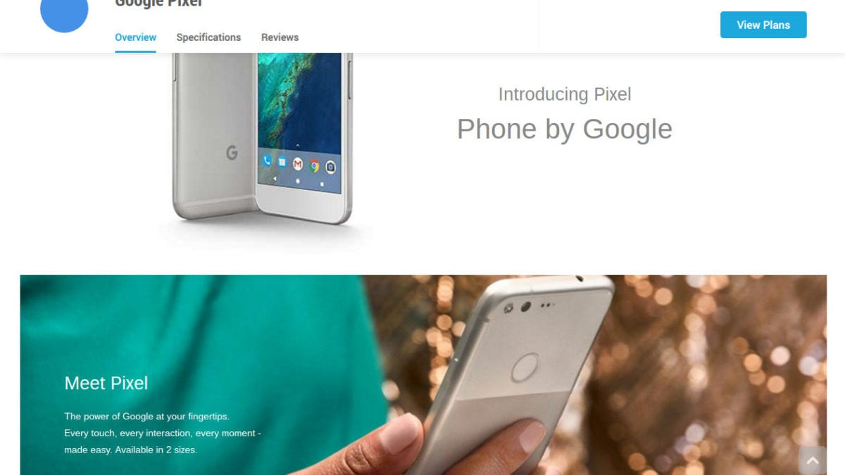Google Pixel Leaked And Listed At Carphone Warehouse