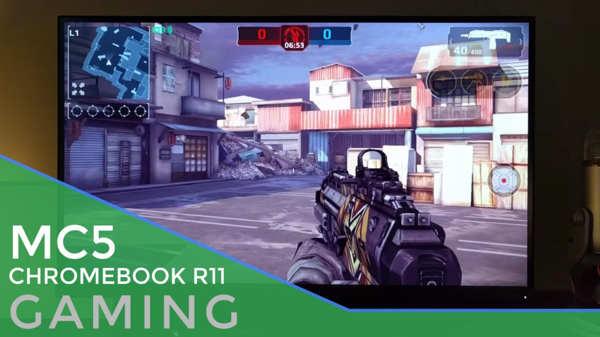 Android Games On A Chromebook With Bluetooth Controller: Modern Combat 5 [Video]
