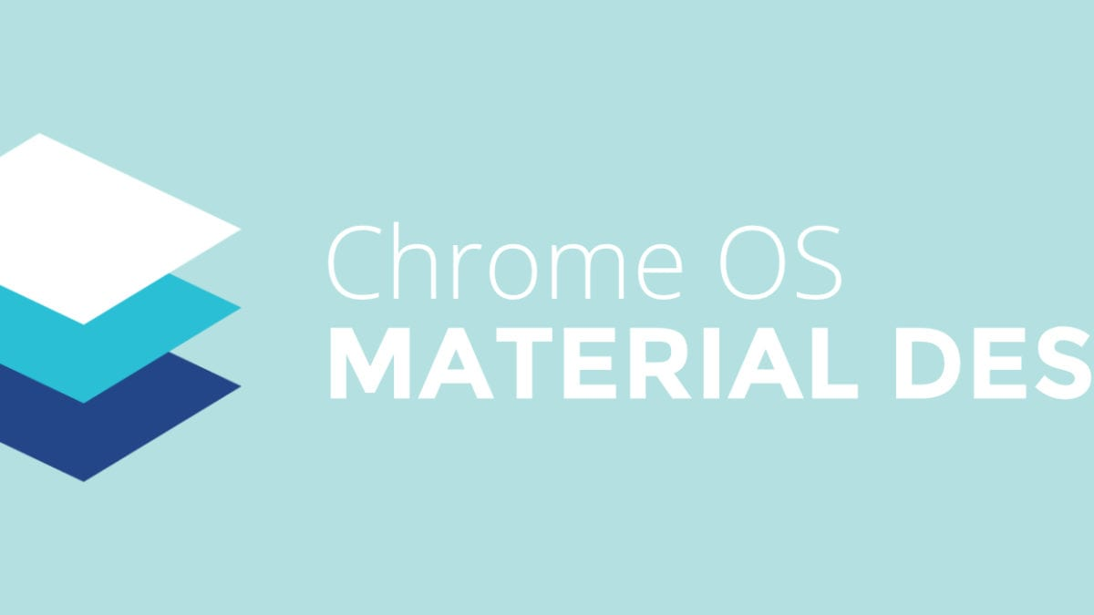 Chromebooks Get Material Design Shelf, Settings and Welcome Screen