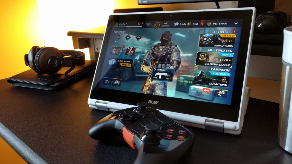 Playing Games On A Chromebook Is Great With Android Apps And Bluetooth Controllers