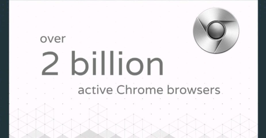 Chrome Celebrates 2 Billion Active Installs