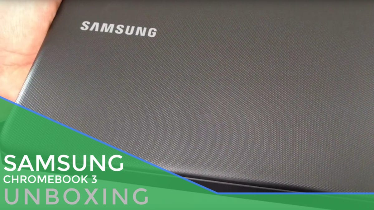 Black Friday Deal Unboxing: Samsung Chromebook 3