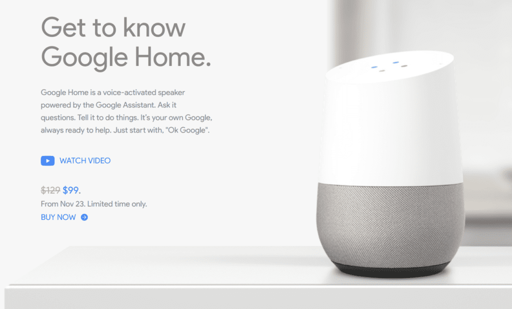 Google Home, The Next Big Thing: Get Great Deals This Black Friday