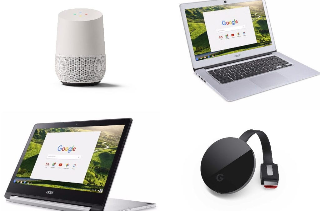 Chromebooks, Chromecast, Google Home And More: Black Friday Deals Round-up