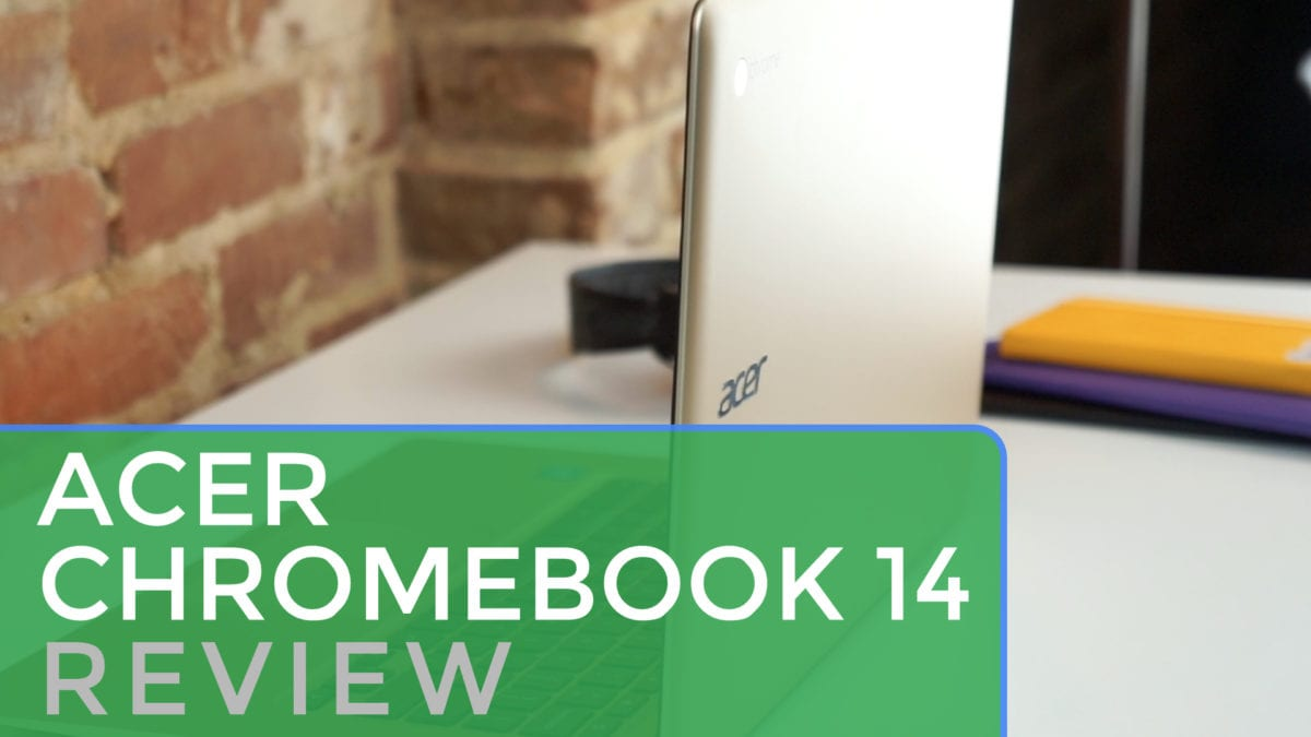 Gold Acer Chromebook 14 Review