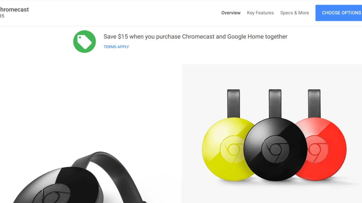 Deal Alert: Save On Chromecast & Google Home