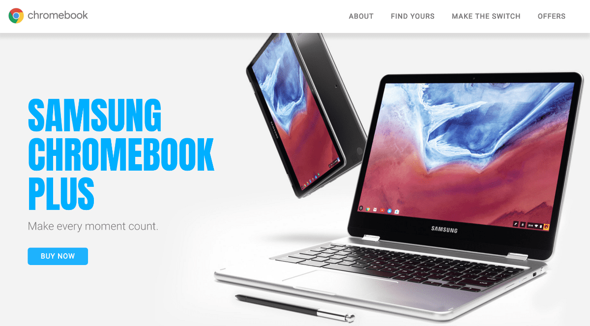 Samsung Touts Chromebook: Powered by Android