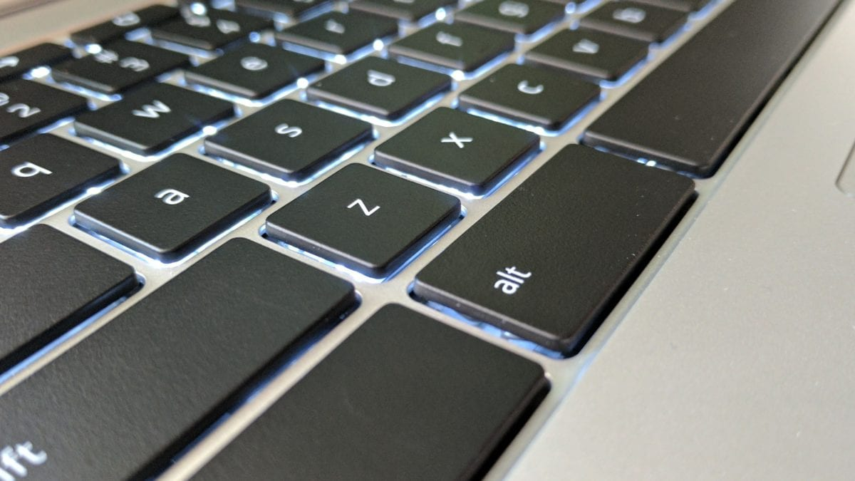 Backlit Keyboard Coming To Detachable Chromebook 'Soraka'