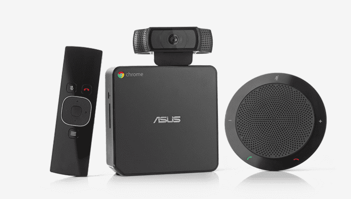 Chromebox For Meetings Adds Peripheral Support Monitor