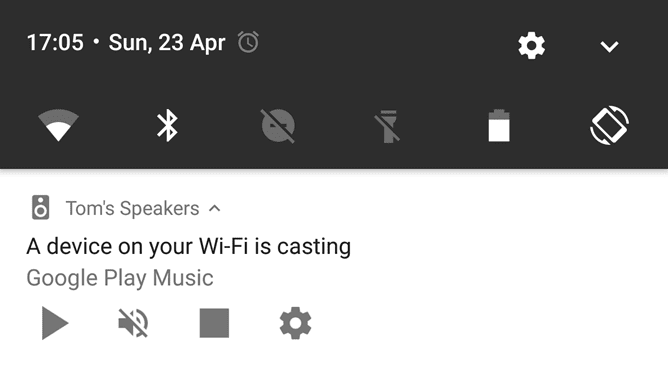 Chromecast Network Notifications Will Soon Be Able To Be Turned Off