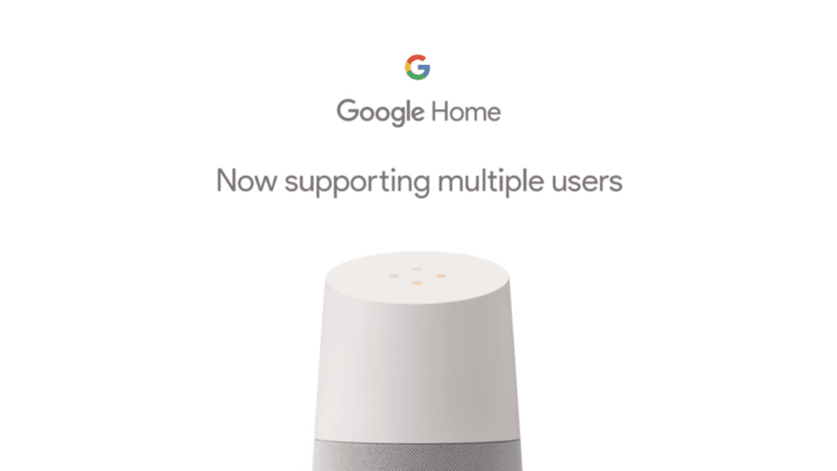 Google Home Now Supports Multiple User Accounts