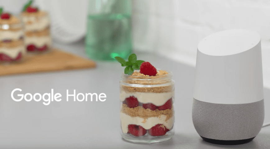 Google Home Goes Gourmet