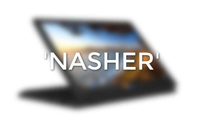 'Nasher' Joins The List Of Upcoming Apollo Lake Chromebooks