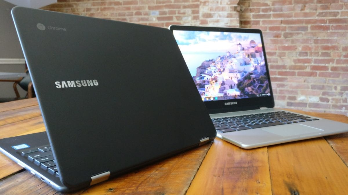 Save $100 On The Samsung Chromebook Pro And Plus Today!