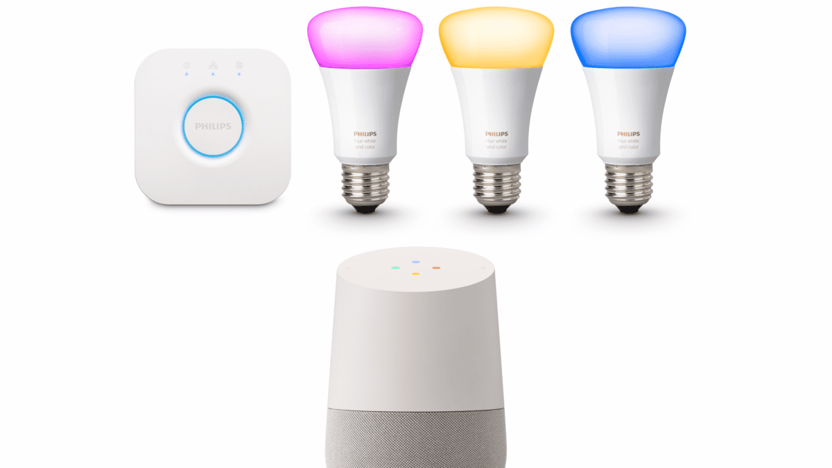 Google Home Plus Philips Hue Equals Big Savings