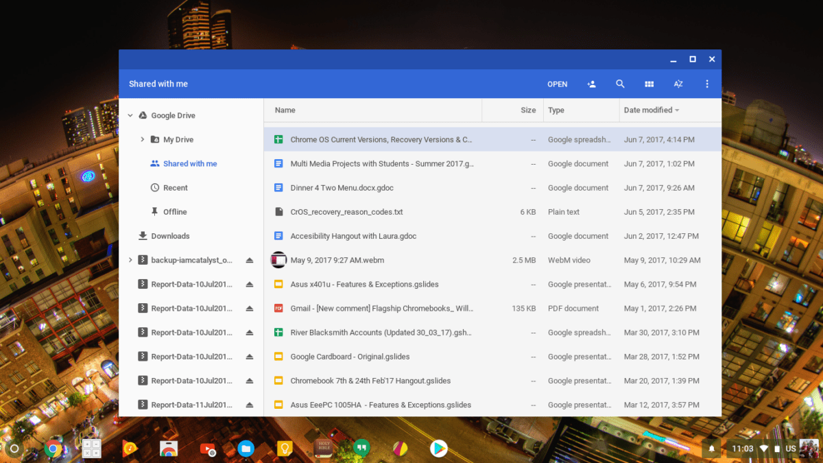 Chromebook Files App Overhaul Points To Consumer Marketing