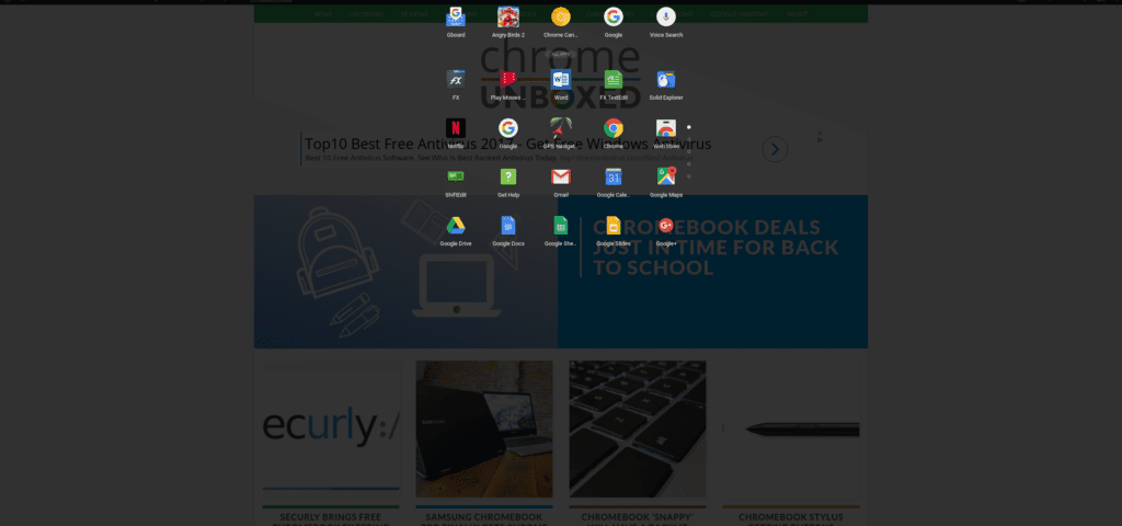 Chromebook Updates: Peeking Launcher Enhancements, Back Button And More