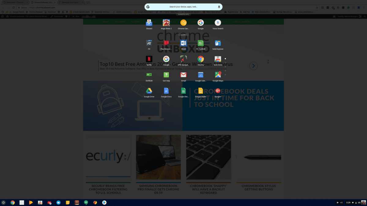 New Chromebook App Launcher Getting Closer