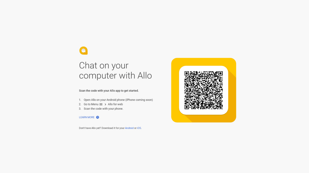 Allo For Web Is Here!
