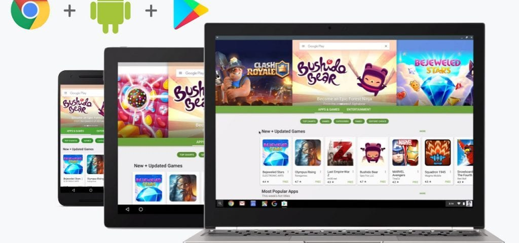 5 More Chromebooks Land Android Apps