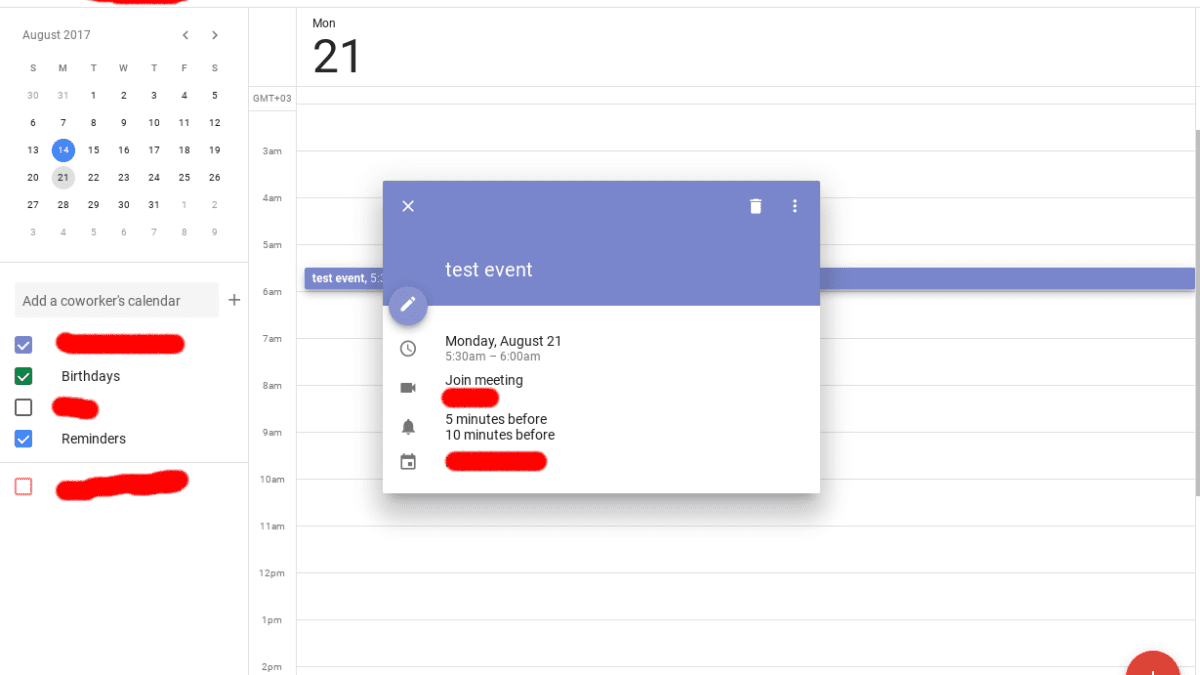 Google Calendar Getting Material Design Makeover