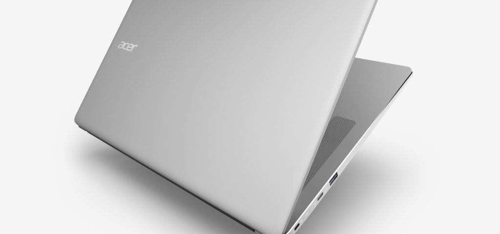 First Hands-On Video Of The New Acer Chromebook 15 Surfaces