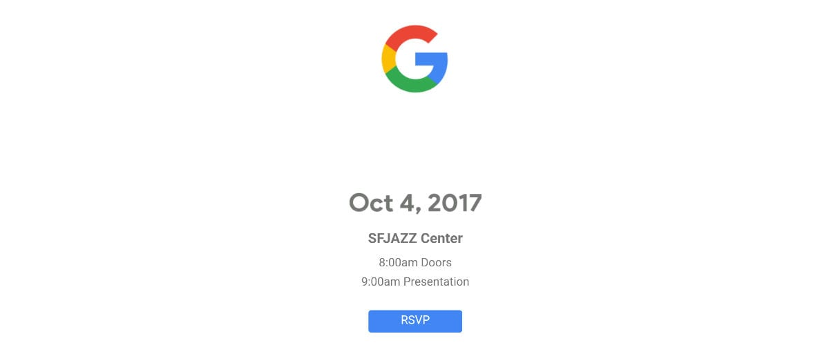 Google's Hardware Event Invites Go Out – Chrome Unboxed Will Be There!