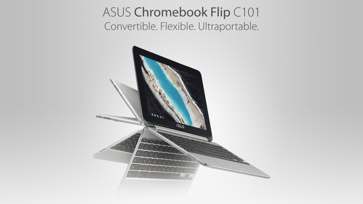 New ASUS Chromebook Flip C101 Gets Official Landing Page