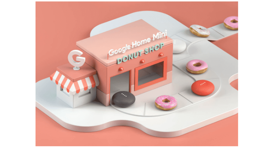 Have A Donut With Google And Score A Home Mini