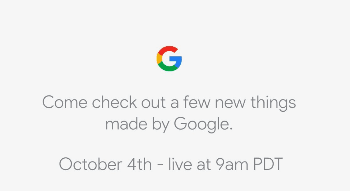 Watch The October 4th Google Pixel Event Here