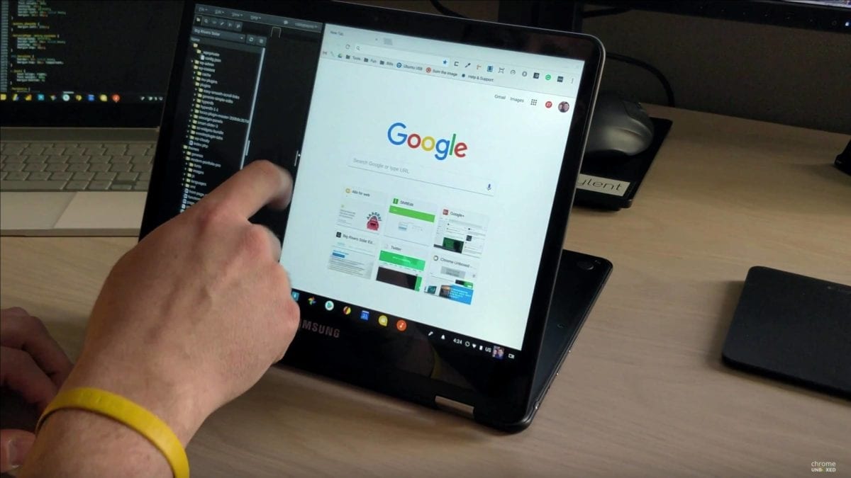 Chromebooks To Get Split Screen Tablet Support For Android Apps