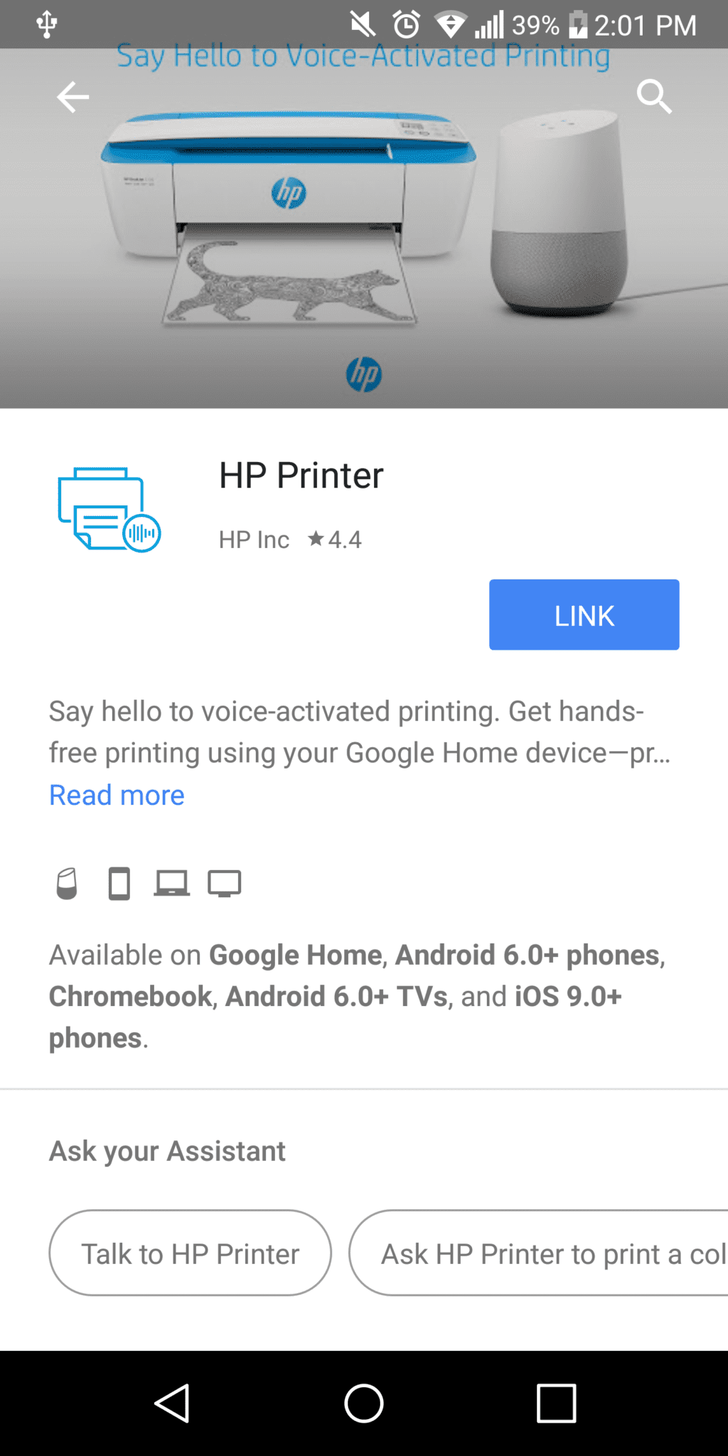 Google Home Can Print  Wait, What?
