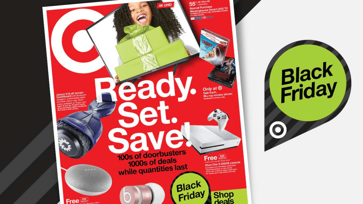 Black Friday Preview: Target Has Deals On Google Home And Chromecast