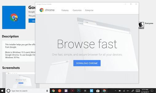 Google Chrome Lands In The Microsoft Store: Sort Of