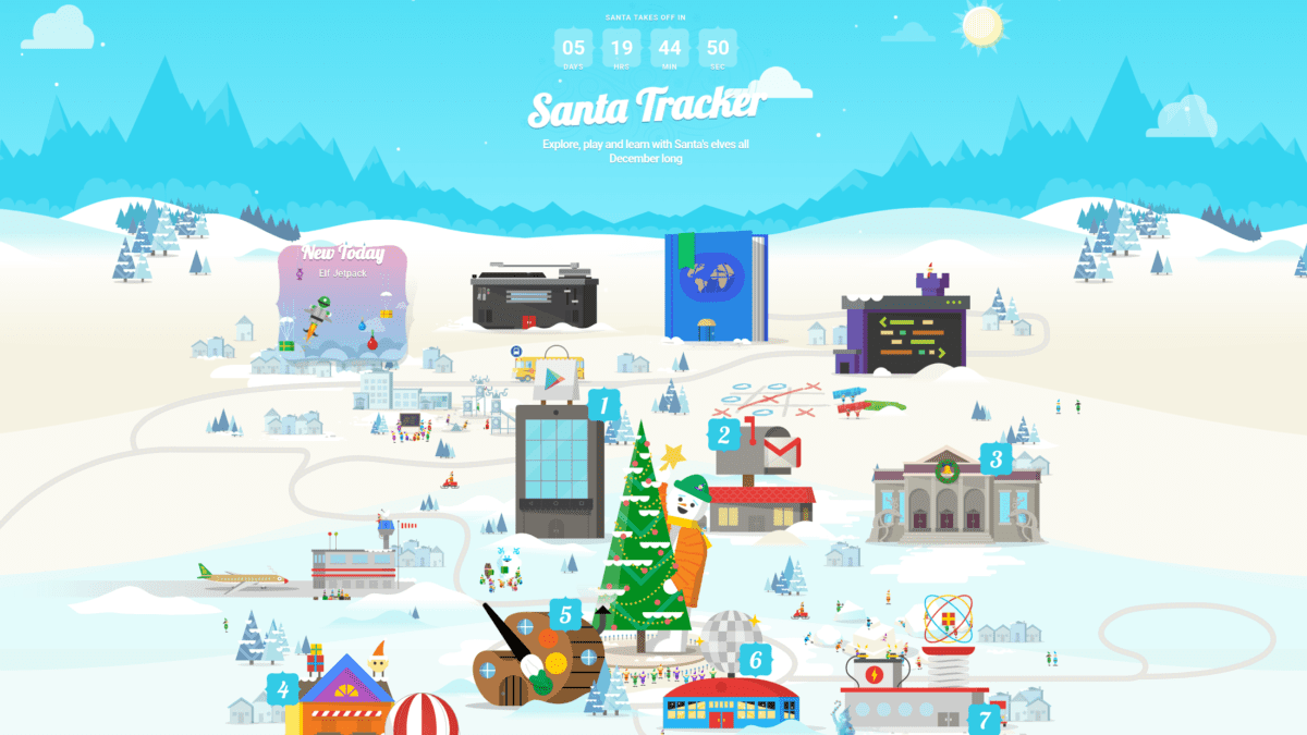 Google's Santa Tracker Is Back With More Holiday Goodies