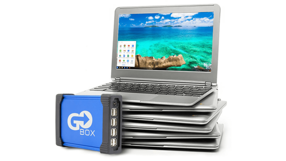 Go-Box Chrome: Mass Chromebook Deployment In A Box