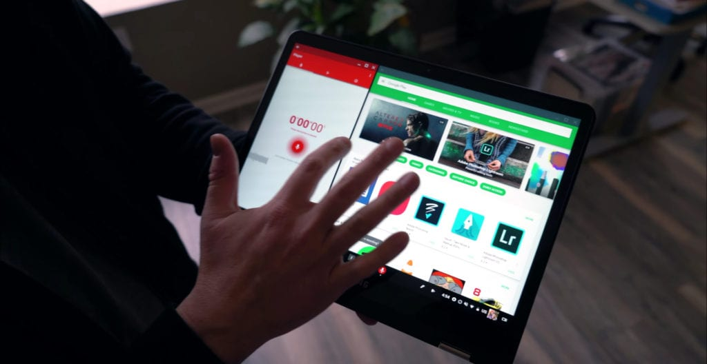 Chrome OS Gets Split Screen Android App Action
