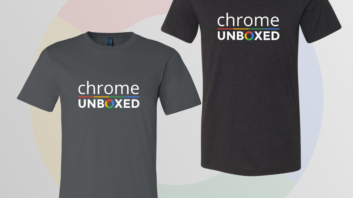 T-shirts, Get Your Chrome Unboxed T-shirts!