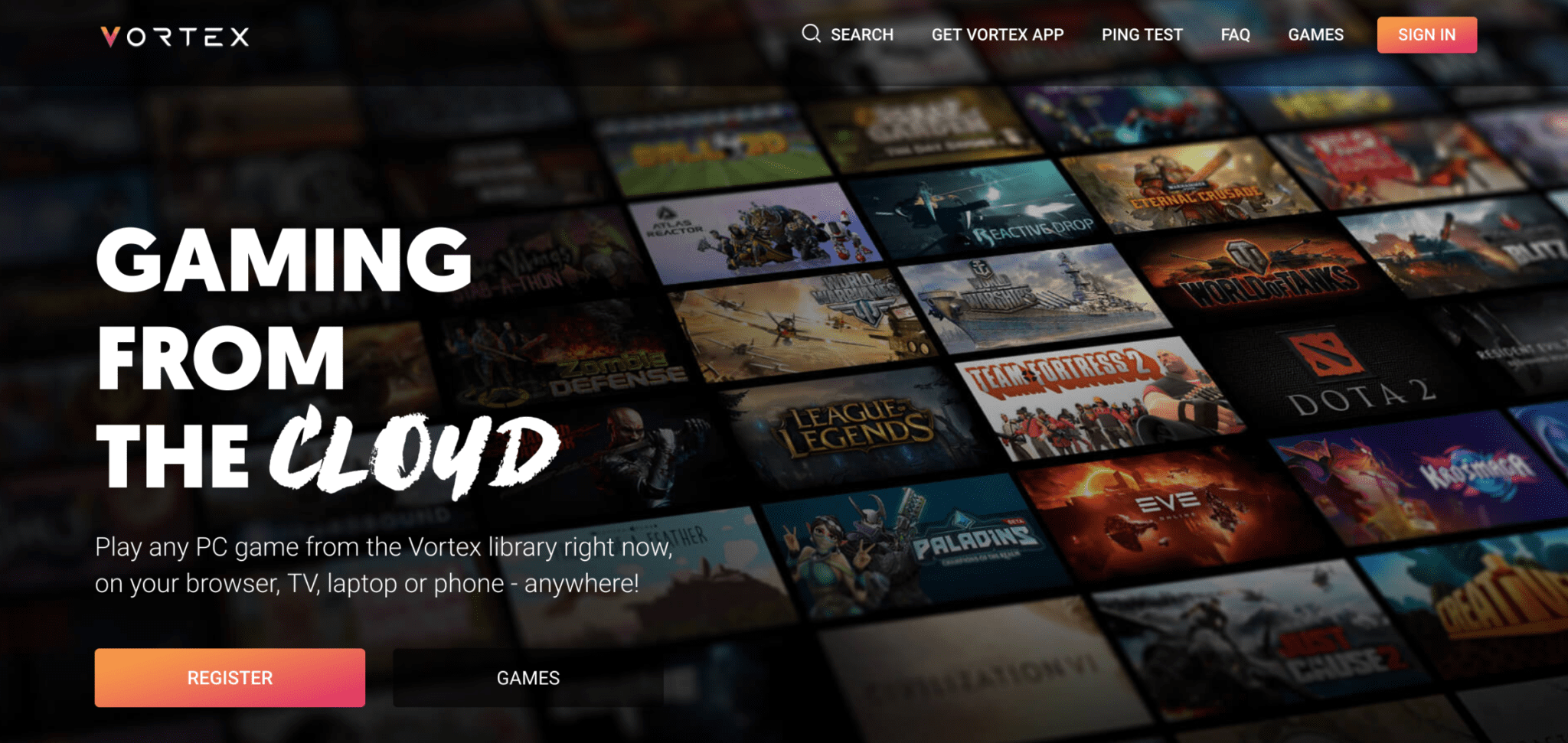 Vortex: High Quality Chromebook Cloud Gaming Without Apps Or